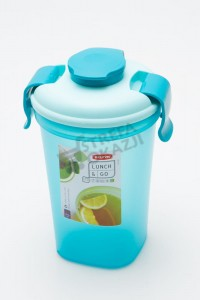 CURVER BIDON KUBEK LUNCH & GO 600 ML TURKUS NA SMOOTHIE