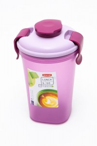 CURVER BIDON KUBEK LUNCH & GO 600 ML FIOLET NA SMOOTHIE