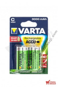 VARTA AKUMULATORKI R14 3000 MAH / 2 SZT. READY2USE