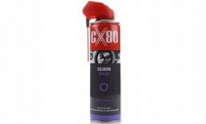 CX-80 SILIKON W AREOZOLU SPRAY Z APLIKATOREM 500ML
