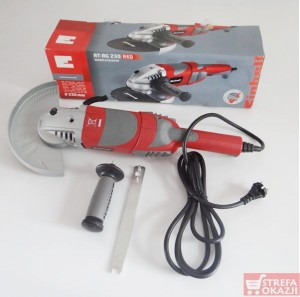 EINHELL SZLIFIERKA KĄTOWA 230MM RT-AG RED - 230W
