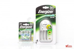 ENERGIZER ŁADOWARKA ACCU BASE + AKUMULATORKI 4xAA POWER PLUS